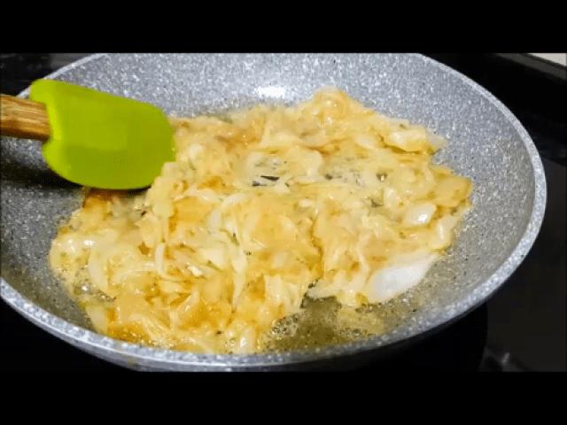 como hacer cebolla caramelizada sin azúcar