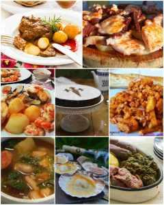menú gallego