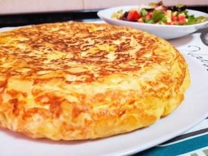 tortilla de patatas microondas