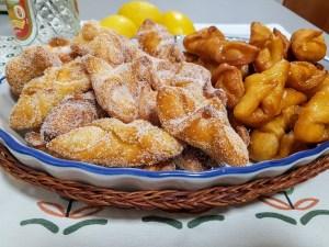 pestiños caseros con miel y azúcar