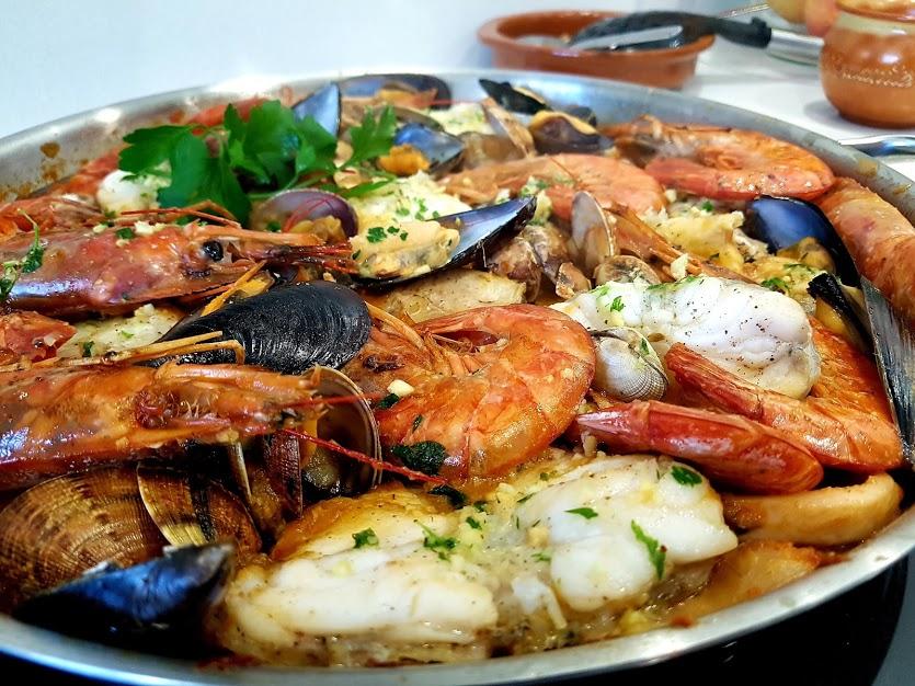 zarzuela de pescado y marisco