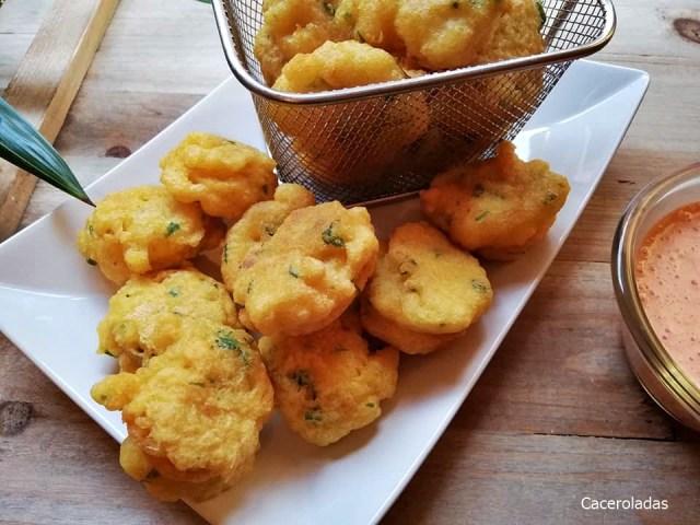 6 recetas de buñuelos de bacalao