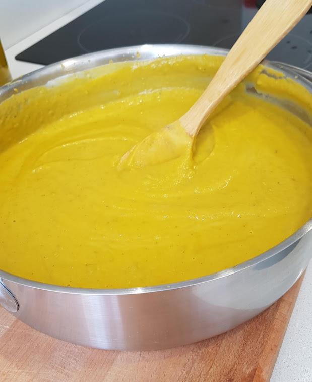 crema de verduras alicia