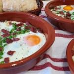 Huevos al plato en menos de 15 minutos