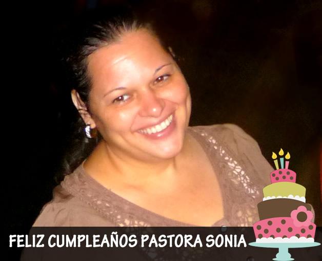 Feliz Cumpleaños Pastora Sonia