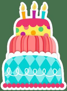 Queque de cumpleaños