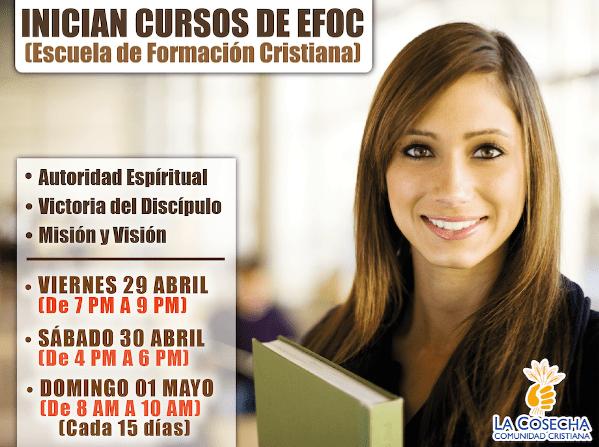 Cursos de EFOC - Escuela de Formación Cristiana