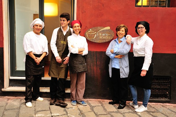 La Cucina di Giuditta lo staff del ristorante
