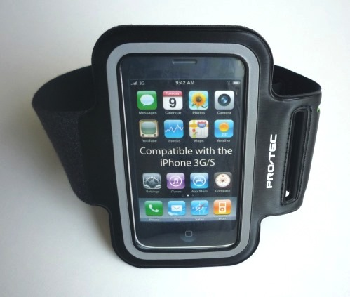 The Pro-tec Athletic iPhone Armband Case Winner