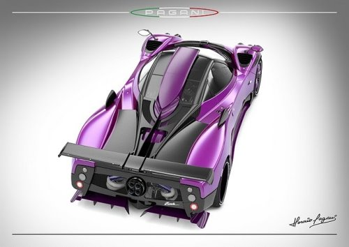New Zonda 750 From Pagani Zonda