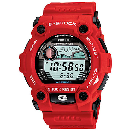 Casio G Shock G7900A 4 Red Watch for Ladies