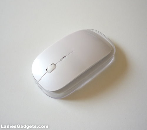 A Stylish White Wireless Optical Mouse Review