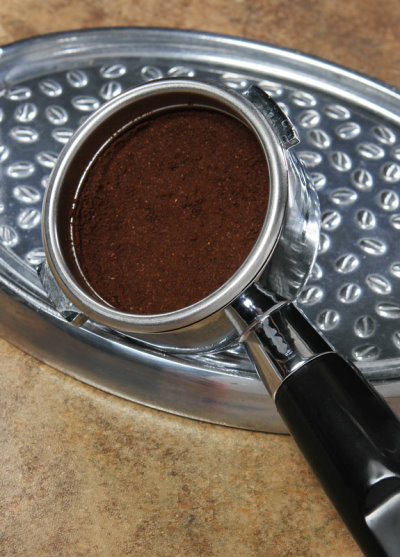 Espresso Machine Powered by Hand
