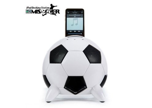 Speakal mi Soccer Ball Docking Station and Speaker System