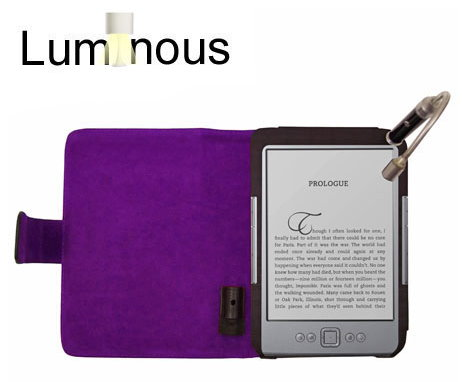 Elegant Case With Built-in Light for Your Kindle