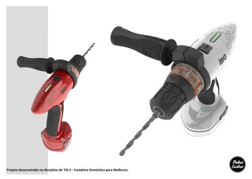 Cordless Drill Design for Women