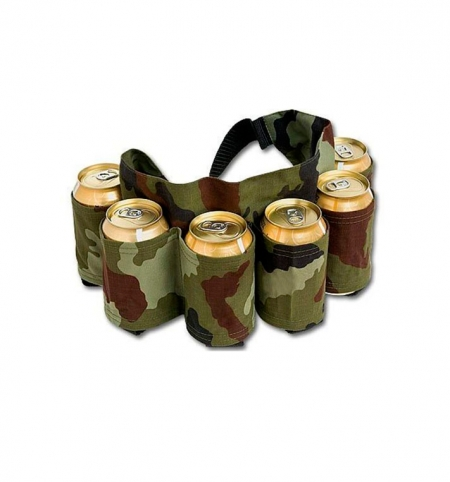 Belt Holds Six Beers