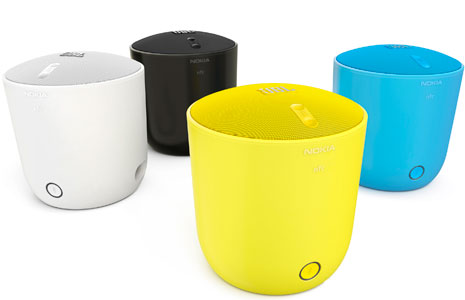 New Nokia Speaker Connects Via Bluetooth NFC or Cable