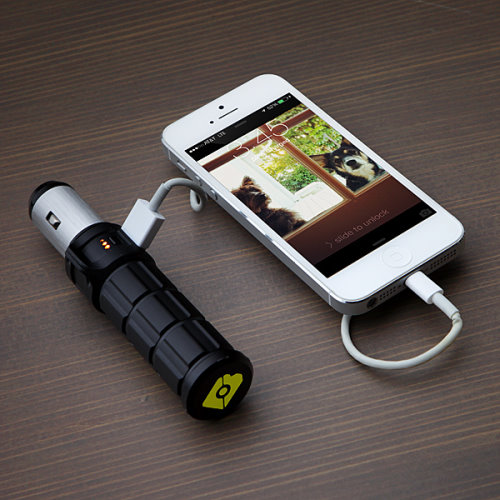 Brunton Torpedo Hybrid Mobile Battery and Charger Keep Your Gadgets Charged 24 7