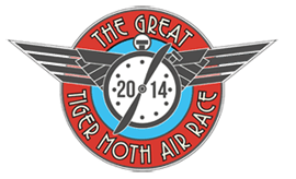 Pilot Charlotte Zeederberg flies The Great Tiger Moth Air Race