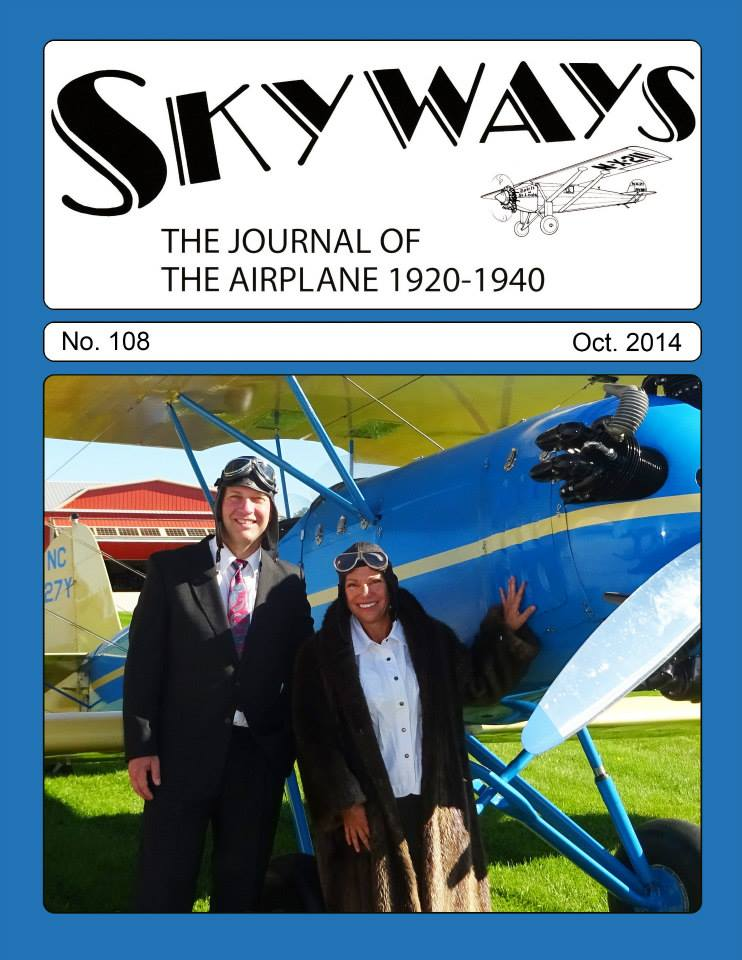 SKYWAYS: The Lindbergh Bird – Then & Now
