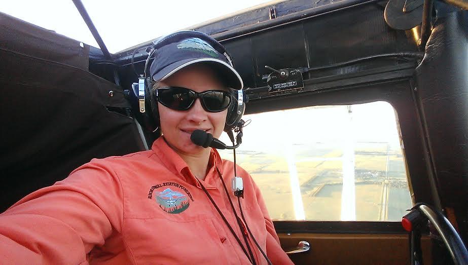 "Heidi Stoeppler, ""Flying my Taylorcraft"""