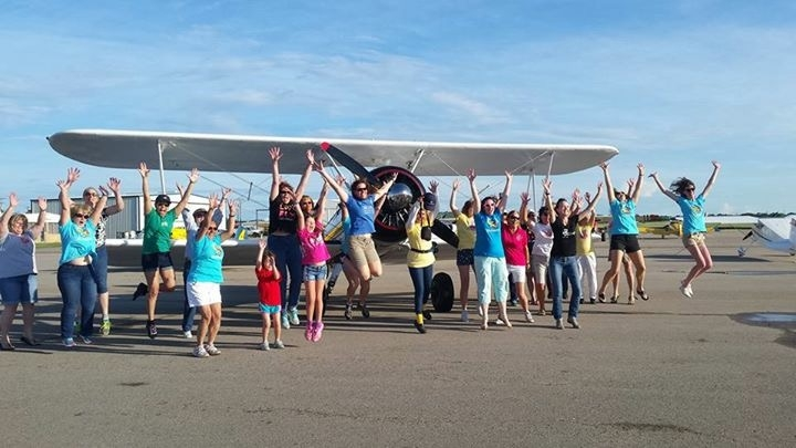 Saturday @ the LadiesLoveTaildraggers TX Fly-in!!