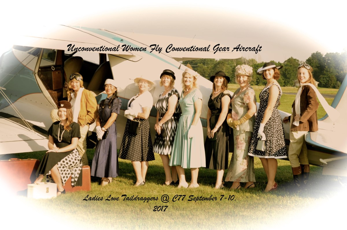 Fly-in Update: Unconventional Women Fly Conventional Gear Aircraft!