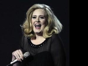 Adele, pipistarello al concerto: reagisce così VIDEO