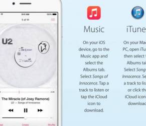 "U2, come cancellare dall'iPhone l'album ""Song of Innocence"""