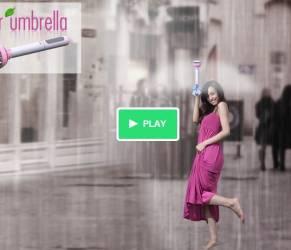 Air Umbrella: l'ombrello trasparente che ripara dalla pioggia (FOTO)