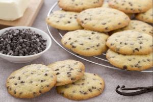 Ricette di dolci: cookies alla vaniglia
