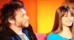 Nek e la figlia Martina al Maurizio Costanzo Show FOTO 1