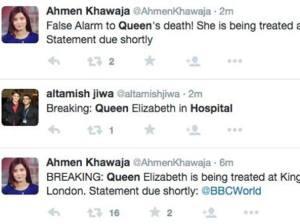 """GB: """"Regina morta"""". Tweet sbagliato della Bbc """"durante prove di necrologio"""" FOTO02"""