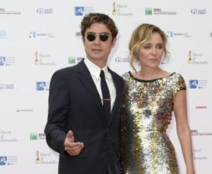 Riccardo Scamarcio e Valeria Golino sul red carpet dei David di Donatello 2015