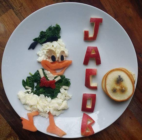 Tuo figlio non mangia? Usa la fantasia e rendi il cibo più simpatico FOTO