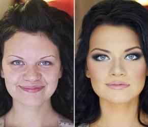 Donne prima e dopo make up: svelato il trucco, cambiamento incredibile!