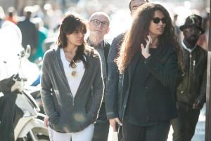 Michelle Rodriguez, Afef Gnifen: shopping in via Montenapoleone4