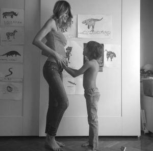 Elena Santarelli incinta: aspetta 2° figlio da Bernardo Corradi