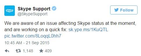 Skype oggi non funziona: perché e come fare