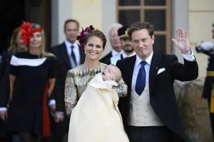Reali di Svezia, FOTO battesimo del principino Nicolas3