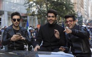 Il Volo al Columbus day di New York FOTO 89