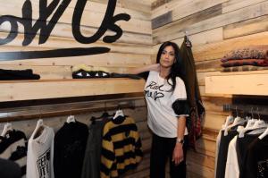 """Federica Nargi, ex velina e modella, è al Pitti Uomo a Firenze. Sul suo futuro lavorativo rivela: """"Sto girando una fiction, 'Il bello delle donne', che torna in tv e ci sarò anche io nel cast""""."""