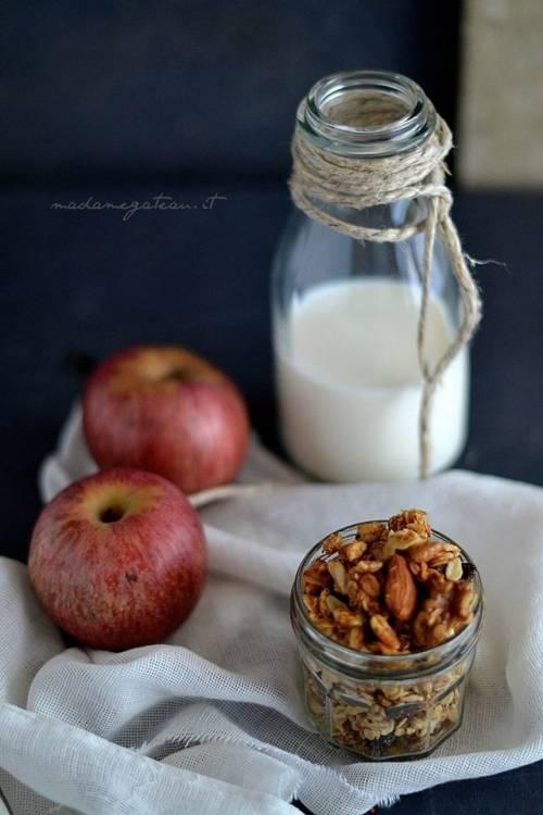 Granola Croccante per una colazione sana e piena di energia