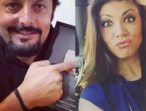 Enrico Brignano presto papà: fidanzata Flora Canto incinta