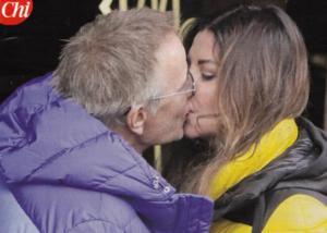 Alba Parietti bacia Christopher Lambert. La FOTO su Chi