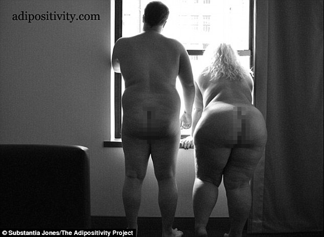 """Coppie over size e gay degne di amare"": FOTO ""Adipositivity""2"