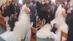 Sposi lasciano l'altare, il bambino arriva e...VIDEO3