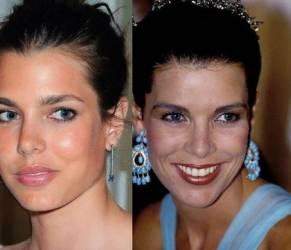 Charlotte Casiraghi e Carolina di Monaco: look a confronto FOTO
