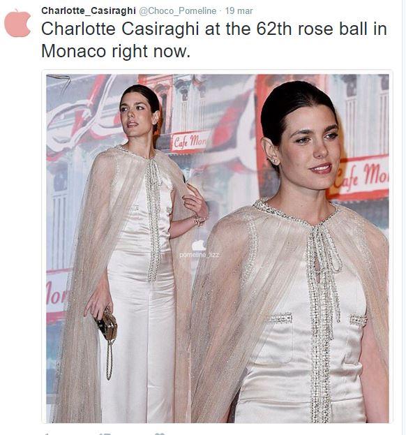 Charlotte Casiraghi: tutina bianca firmata Chanel FOTO/VIDEO